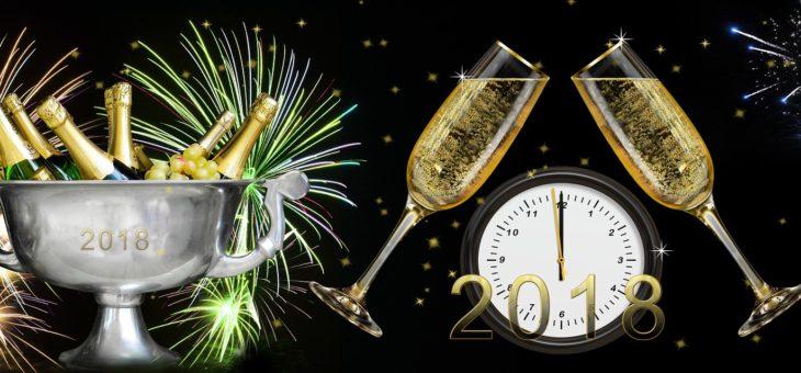 Nowy Rok 2018… nadchodzi…