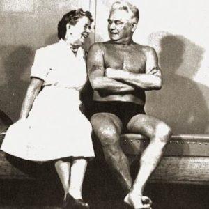 J.Pilates z żoną